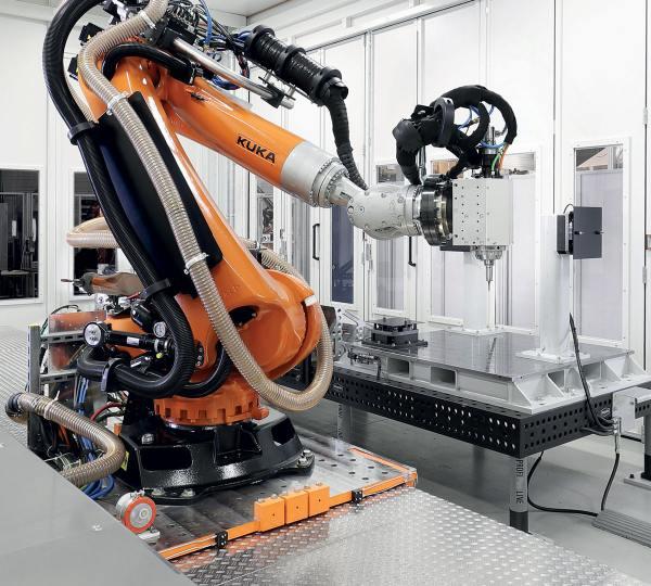 KUKA Milling Robot